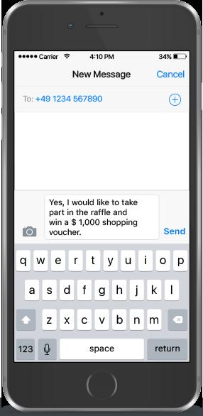 SMS-QR Code Beispiel